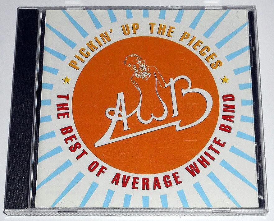 輸入盤『The Best of Average White Band』英国白人ソウルの匠,アヴェレージ・ホワイト・バンドのベスト★全米1位.Pickin' Up the Pieces_画像1