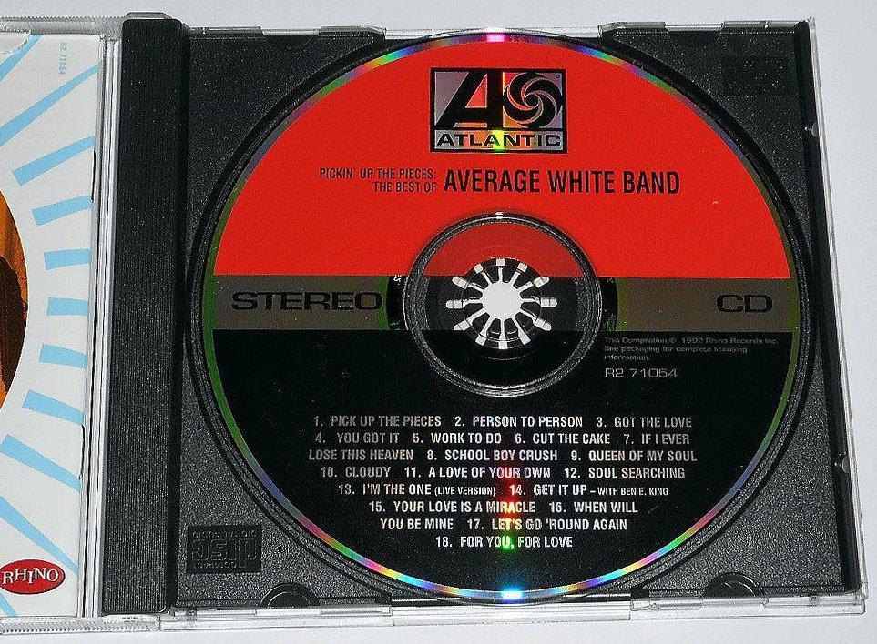 輸入盤『The Best of Average White Band』英国白人ソウルの匠,アヴェレージ・ホワイト・バンドのベスト★全米1位.Pickin' Up the Pieces_画像3