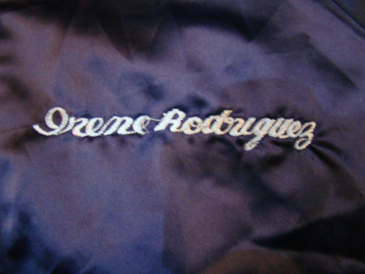 美品 80s vintage Souvenir korean jacket Mサイズ ブルー サテン コリアン ジャケット コリジャン スカジャン_画像4