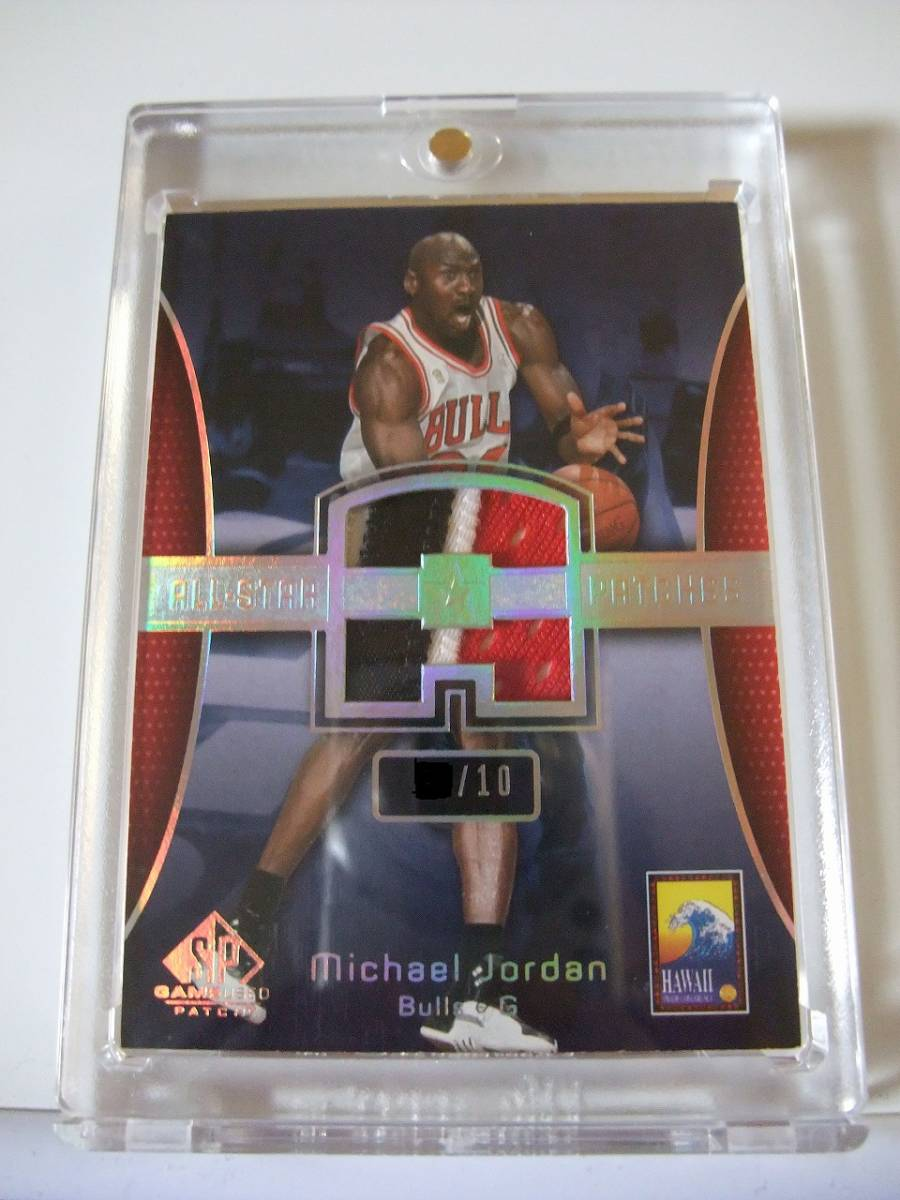 ☆ SP GAME USED ALLーSTAR PATCHES /10枚限定 パッチ michael jordan MJ マイケルジョー