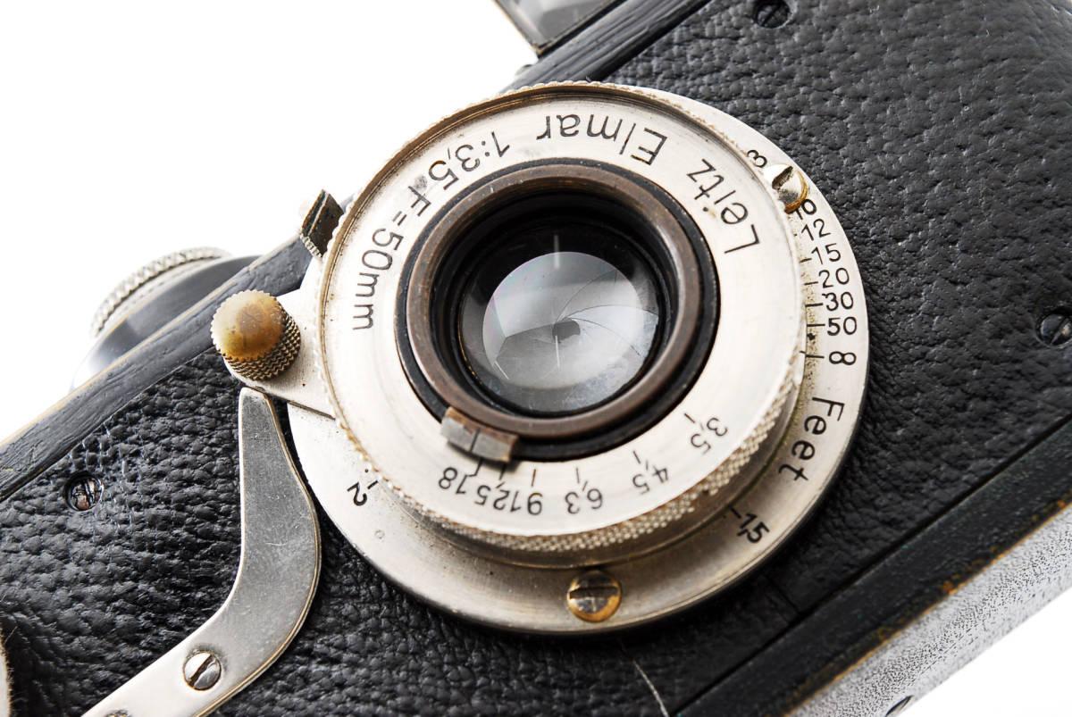 ☆極上☆ LEICA A型 I型 Elmar 50mm F3.5 バルナック ライカ エルマー 17000番台 後期型 #697_画像10
