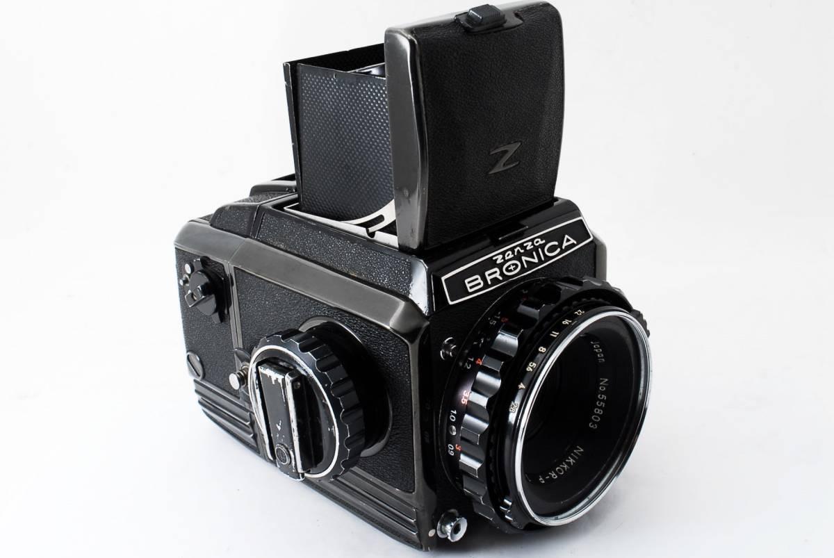 ☆格安☆ZENZA BRONICA S2 NIKKOR-P 75mm F2.8 ブロニカ 中判カメラ フィルム #711_画像7