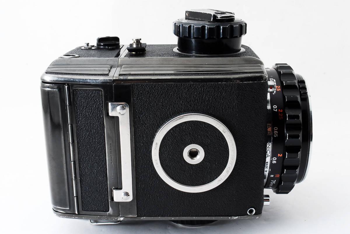 ☆格安☆ZENZA BRONICA S2 NIKKOR-P 75mm F2.8 ブロニカ 中判カメラ フィルム #711_画像6