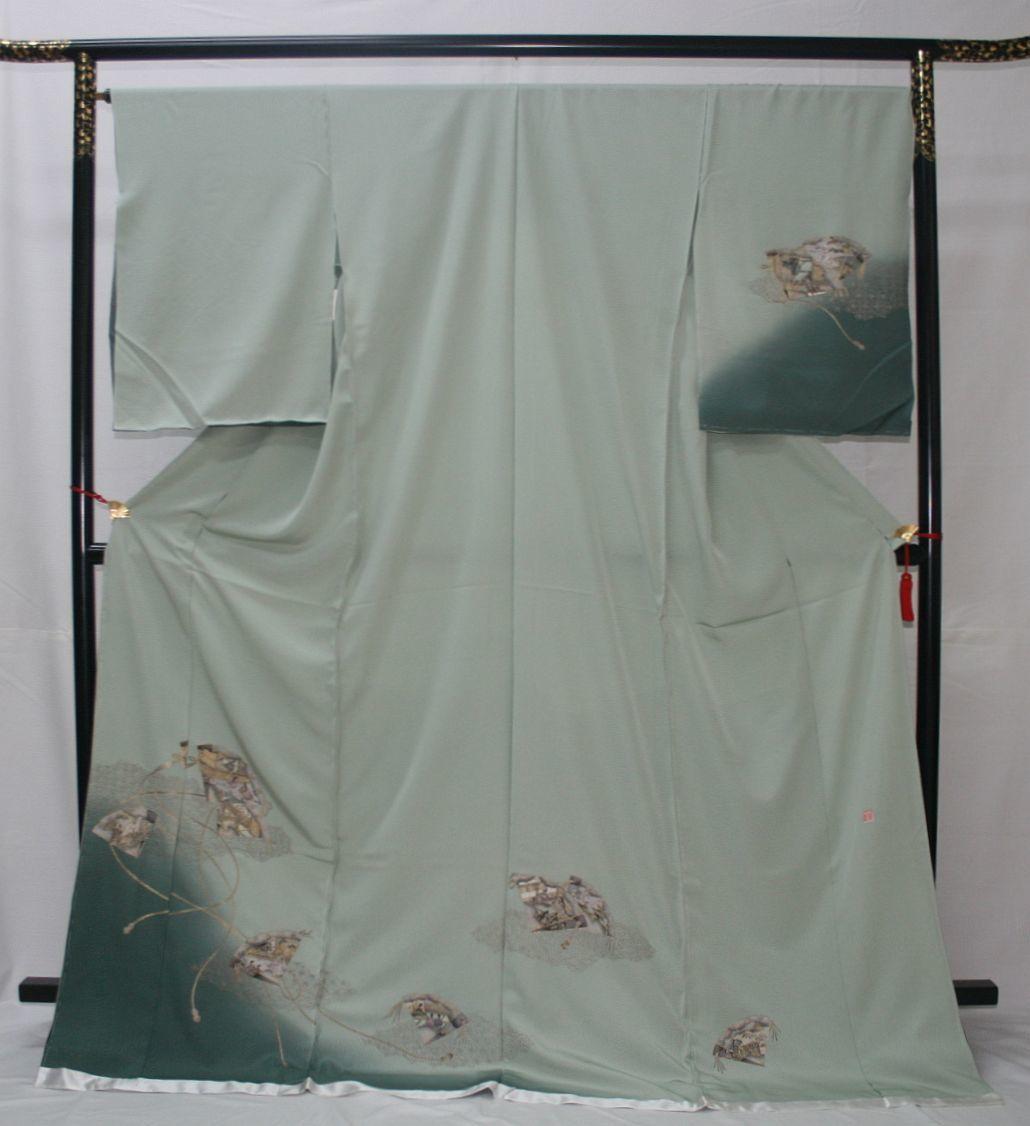 ◆高級手縫い仕立付◆ 横塚先生◆汕頭手刺繍◆特別訪問着_画像1