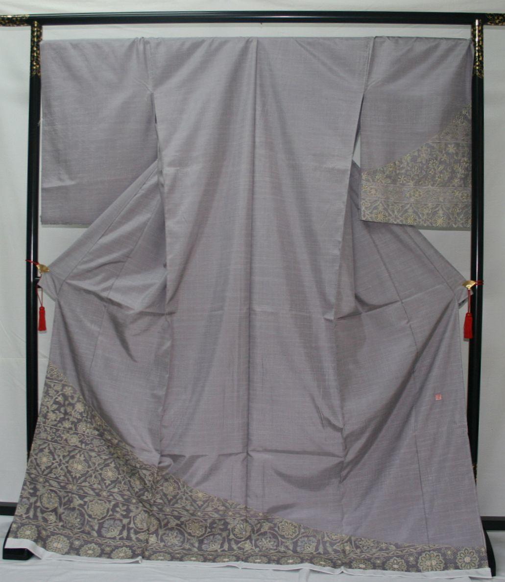 ◆高級手縫い仕立付◆ 横塚先生謹製◆三眠蚕◆特別訪問着_画像1
