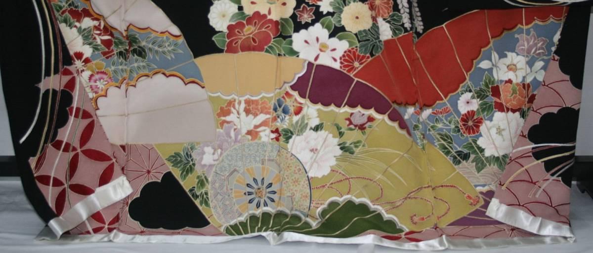 ◆一品物◆弊社オリジナル訪問着◆高級手縫いお誂え手仕立て付き◆振袖◆_画像5