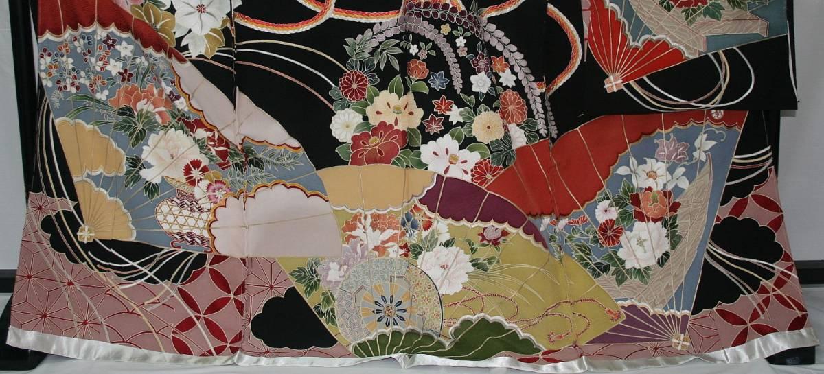 ◆一品物◆弊社オリジナル訪問着◆高級手縫いお誂え手仕立て付き◆振袖◆_画像2