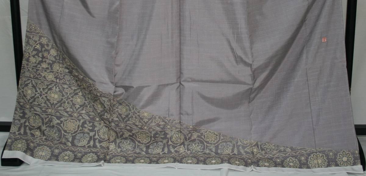 ◆高級手縫い仕立付◆ 横塚先生謹製◆三眠蚕◆特別訪問着_画像2