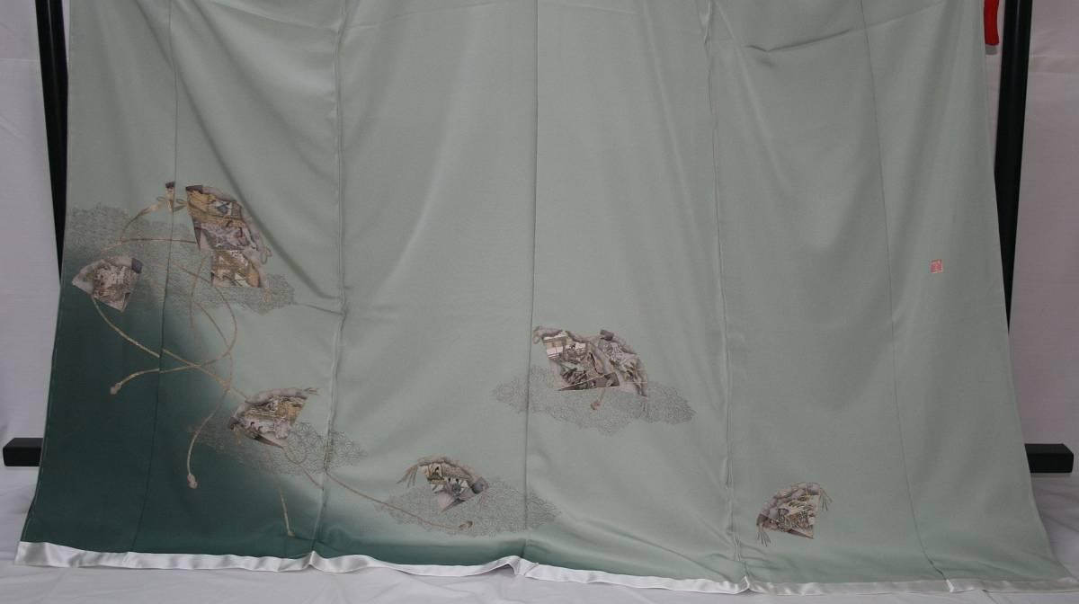 ◆高級手縫い仕立付◆ 横塚先生◆汕頭手刺繍◆特別訪問着_画像2