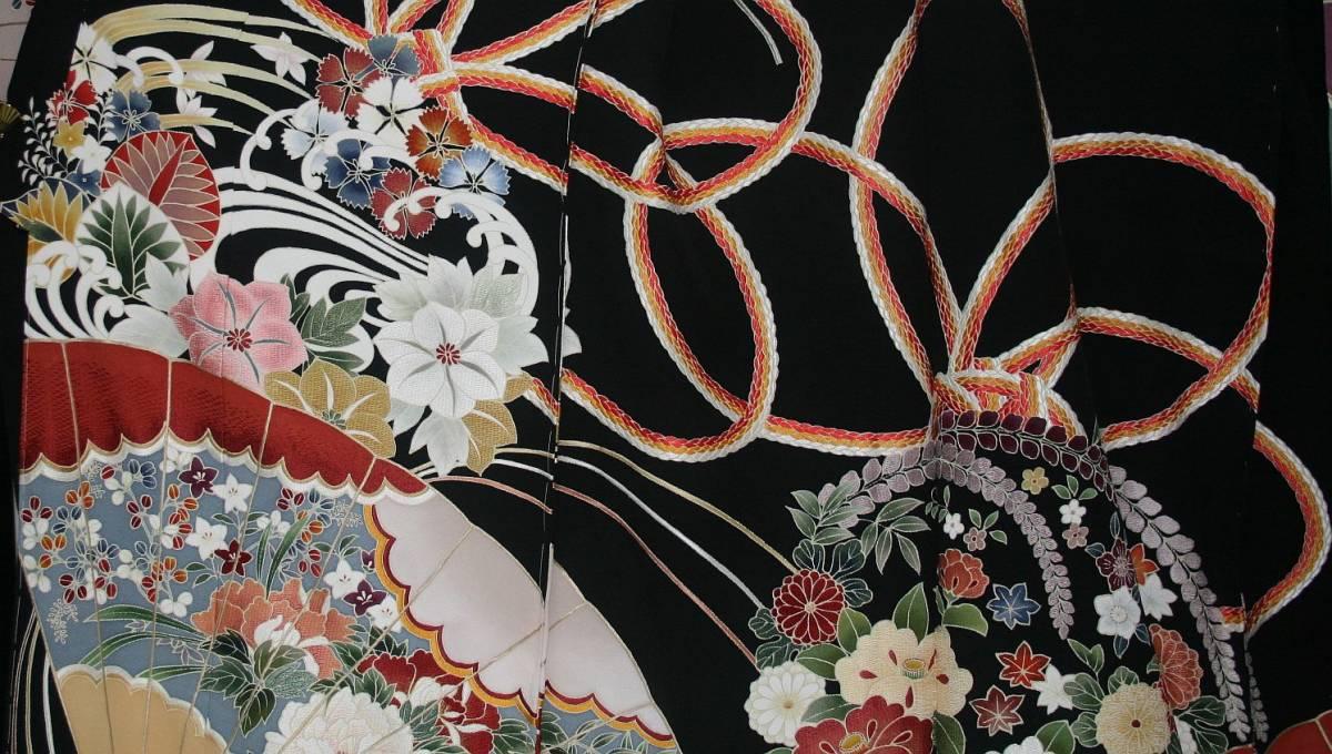 ◆一品物◆弊社オリジナル訪問着◆高級手縫いお誂え手仕立て付き◆振袖◆_画像3