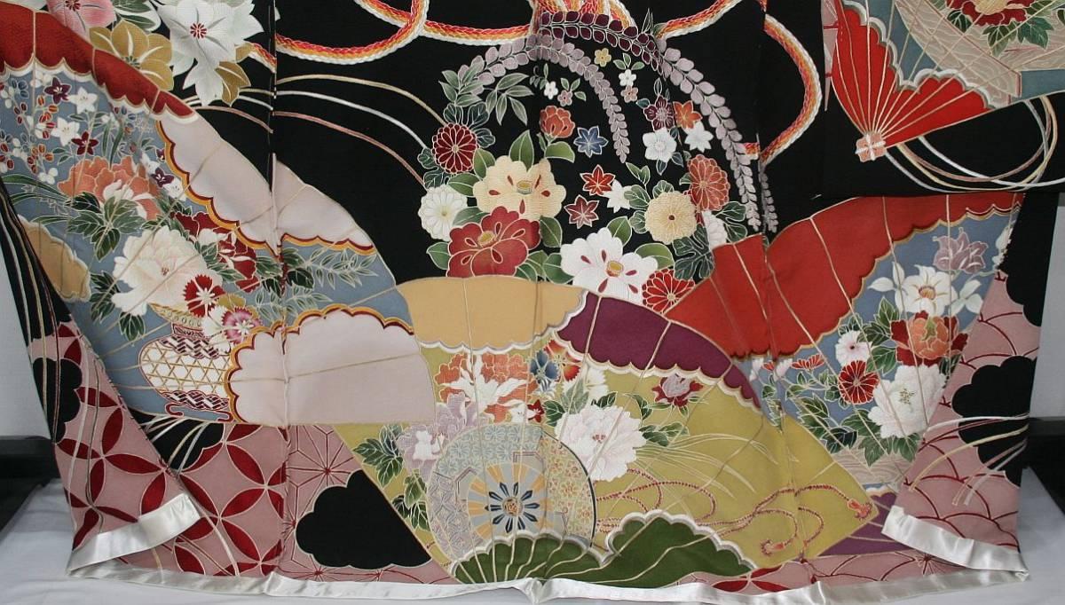 ◆一品物◆弊社オリジナル訪問着◆高級手縫いお誂え手仕立て付き◆振袖◆_画像4