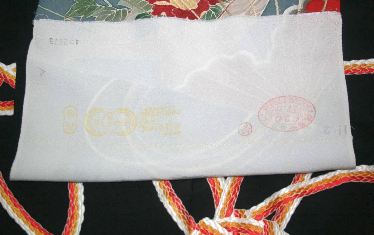 ◆一品物◆弊社オリジナル訪問着◆高級手縫いお誂え手仕立て付き◆振袖◆_画像7