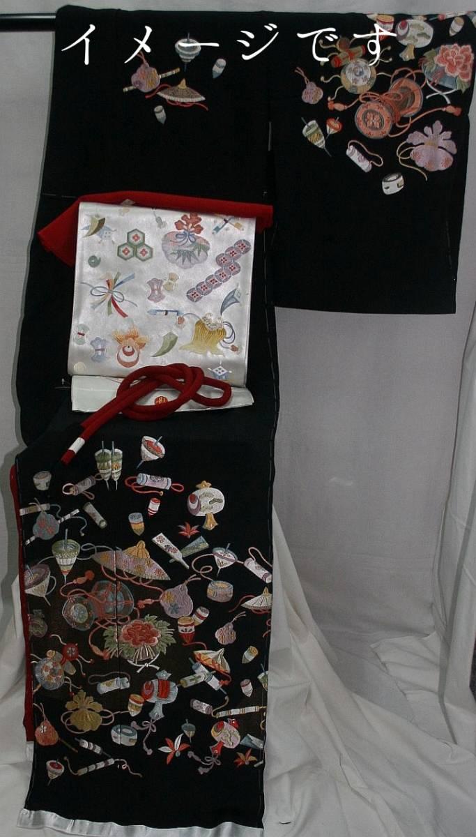 ◆弊社工房オリジナル◆手刺繍、引箔袋帯◆訪問着、留袖、色留、色無地用◆_画像4