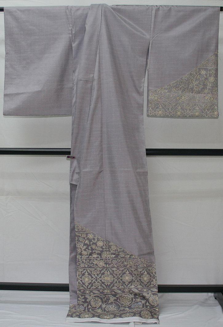 ◆高級手縫い仕立付◆ 横塚先生謹製◆三眠蚕◆特別訪問着_画像5
