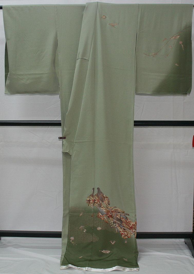 ◆高級手縫い仕立付◆ 横塚先生◆汕頭手刺繍◆特別訪問着1_画像6