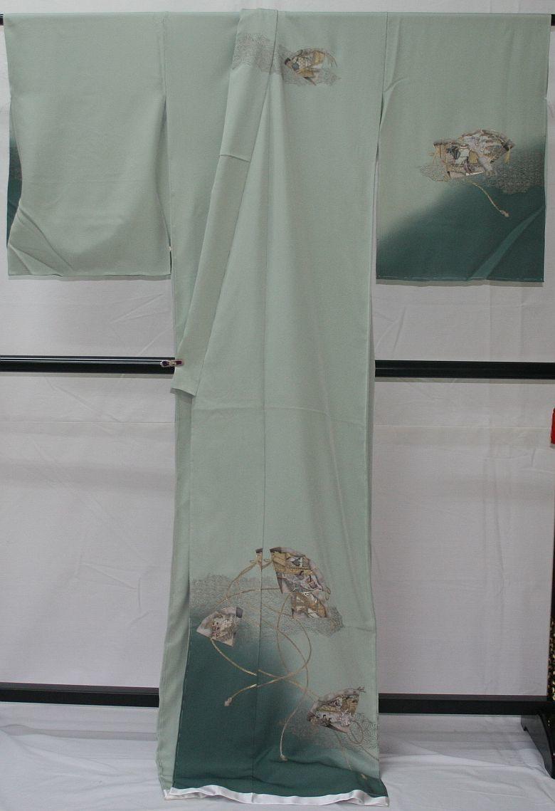 ◆高級手縫い仕立付◆ 横塚先生◆汕頭手刺繍◆特別訪問着_画像5
