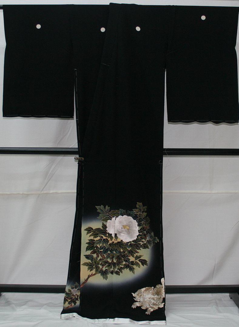 ◆高級手縫い仕立付◆弊社工房オリジナル◆手刺繍◆特別黒留袖◆1_画像4