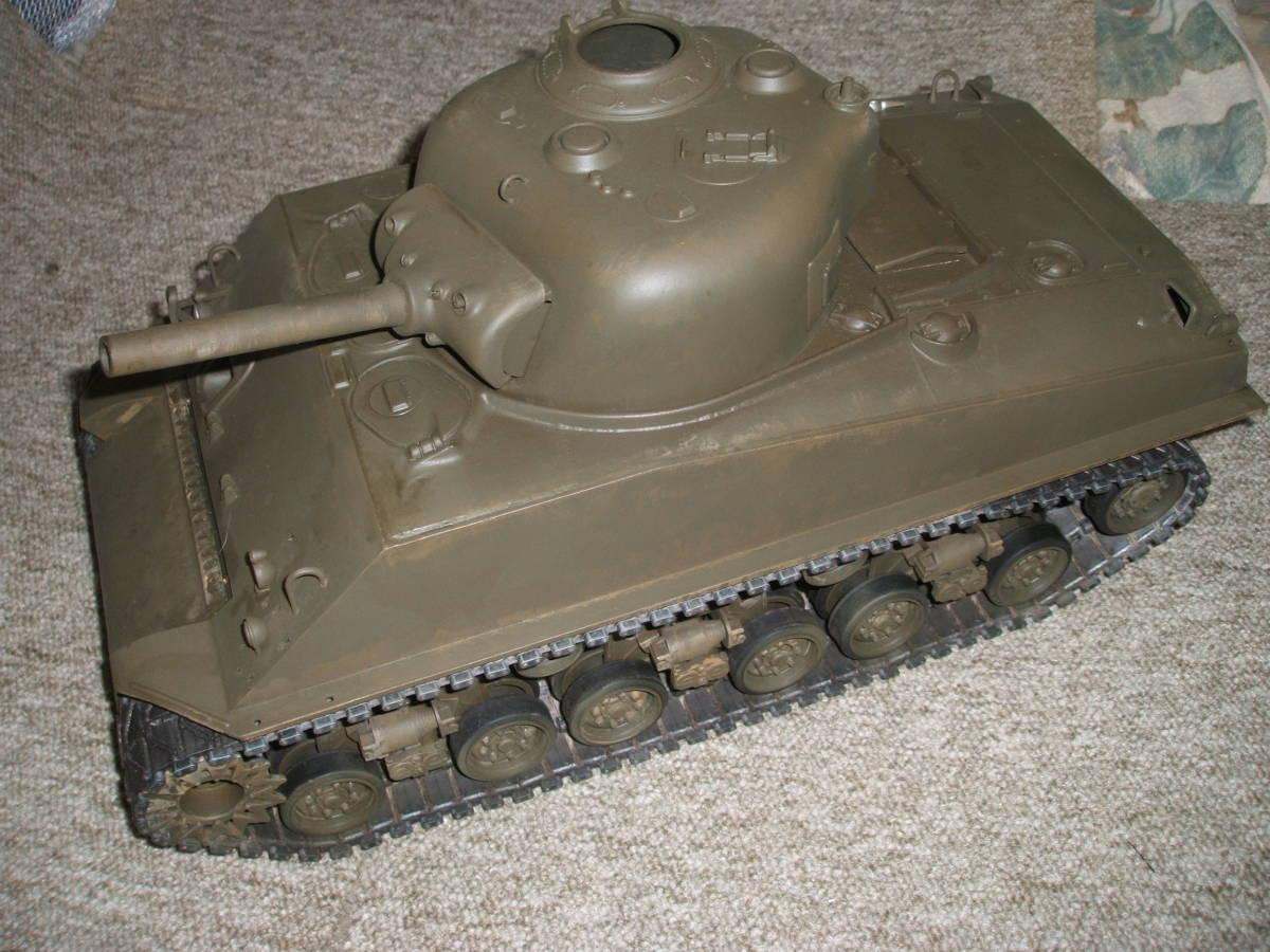 ■ タミヤ 1/16 M4 シャーマン ラジコン戦車 ジャンク 機関部良好 ■