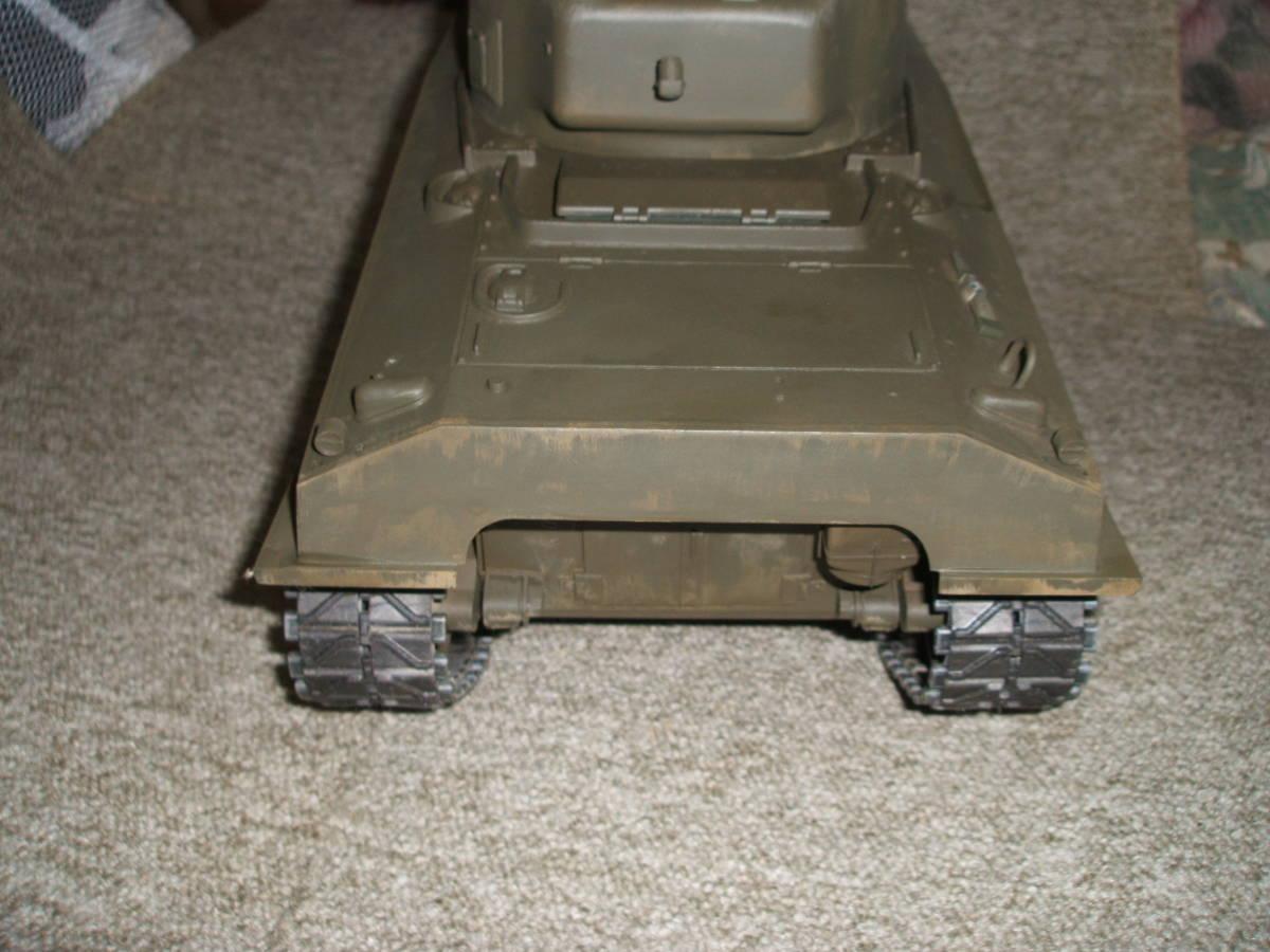 ■ タミヤ 1/16 M4 シャーマン ラジコン戦車 ジャンク 機関部良好 ■_画像3
