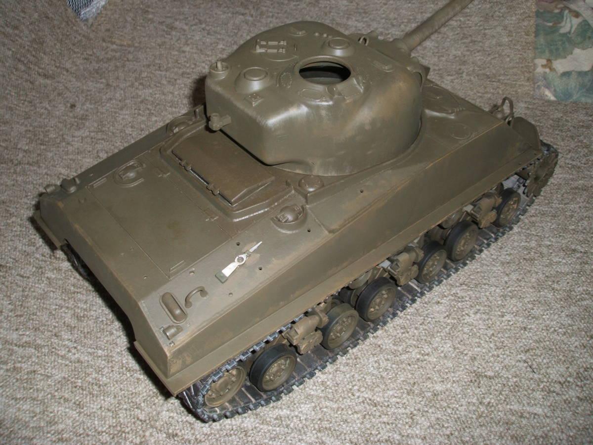 ■ タミヤ 1/16 M4 シャーマン ラジコン戦車 ジャンク 機関部良好 ■_画像2