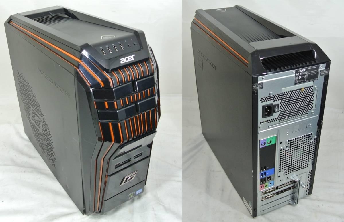 かっけー!快速SSD!Acer Predator AG5920-F76G/GL i7-3770K/GTX680 2GB/16G/新SSD240G+1TB/ブルーレイRE/USB3.0/Win10/office2016/高性能_画像7