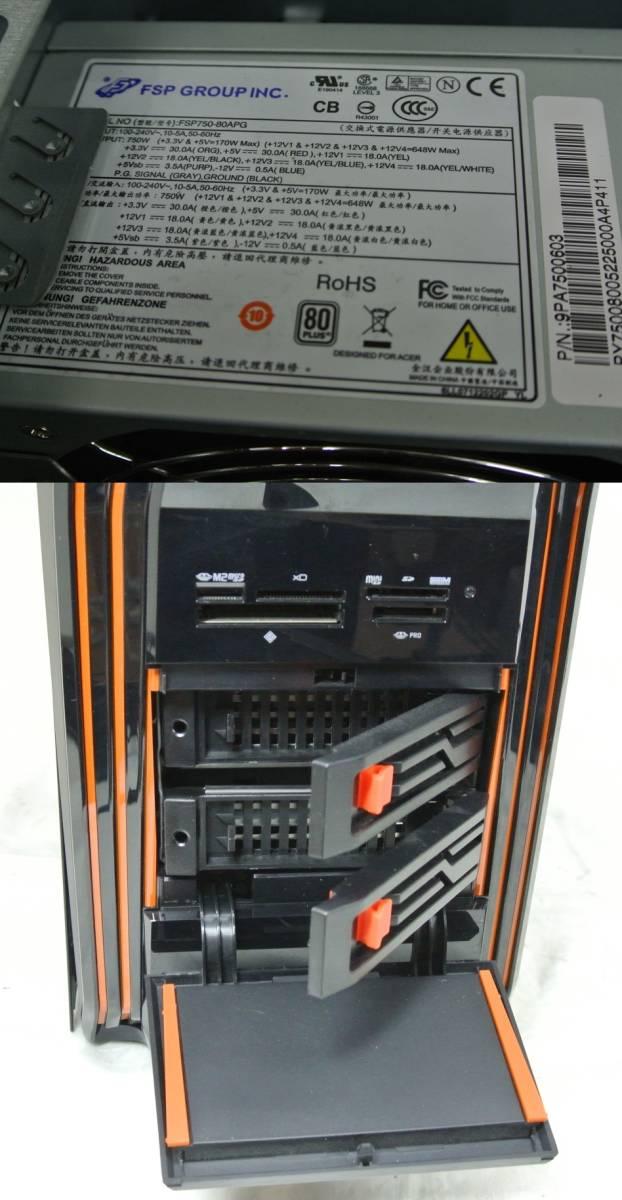 かっけー!快速SSD!Acer Predator AG5920-F76G/GL i7-3770K/GTX680 2GB/16G/新SSD240G+1TB/ブルーレイRE/USB3.0/Win10/office2016/高性能_画像9