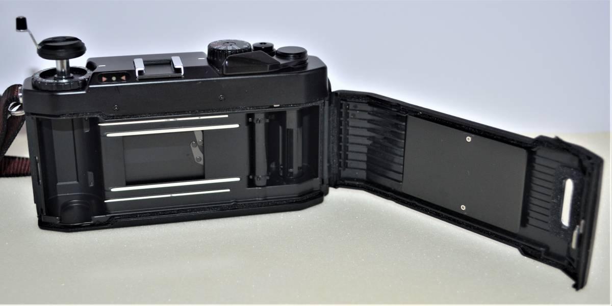 ★完動美品★ Voigtlander フォクトレンダー BESSA-L 黒 ブラック ボディ K230_画像4