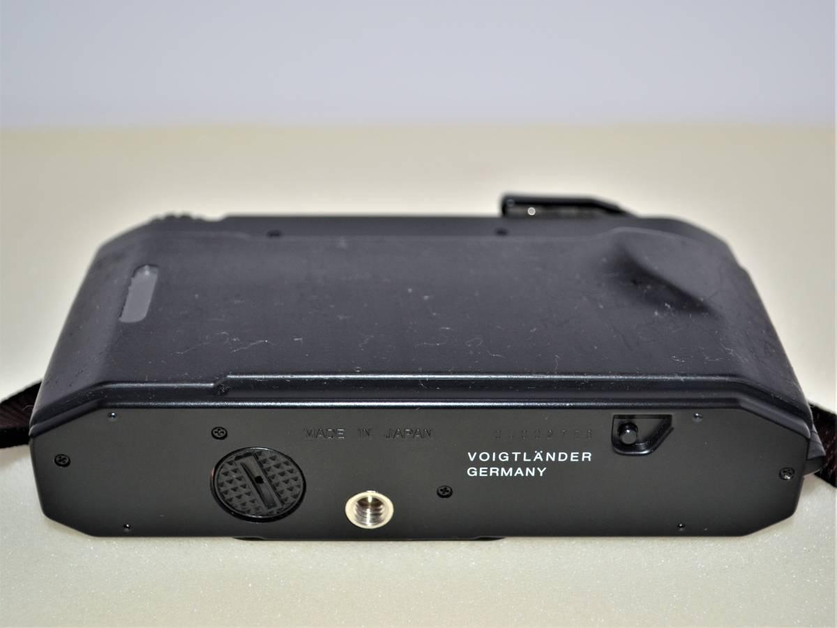 ★完動美品★ Voigtlander フォクトレンダー BESSA-L 黒 ブラック ボディ K230_画像3