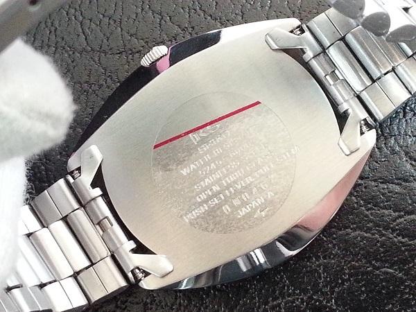 大野時計店 キングセイコー スペシャル 5245-6000 自動巻 1970年11月製造 クロノメーター 絹目文字盤 希少_画像5