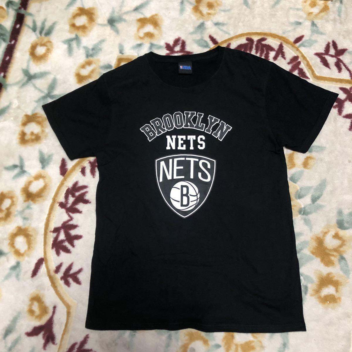 NBA Brooklyn Nets ブルックリン ネッツ Tシャツ メンズサイズM-L