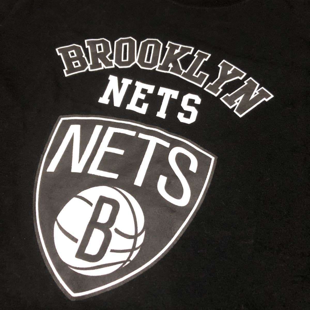NBA Brooklyn Nets ブルックリン ネッツ Tシャツ メンズサイズM-L_画像5