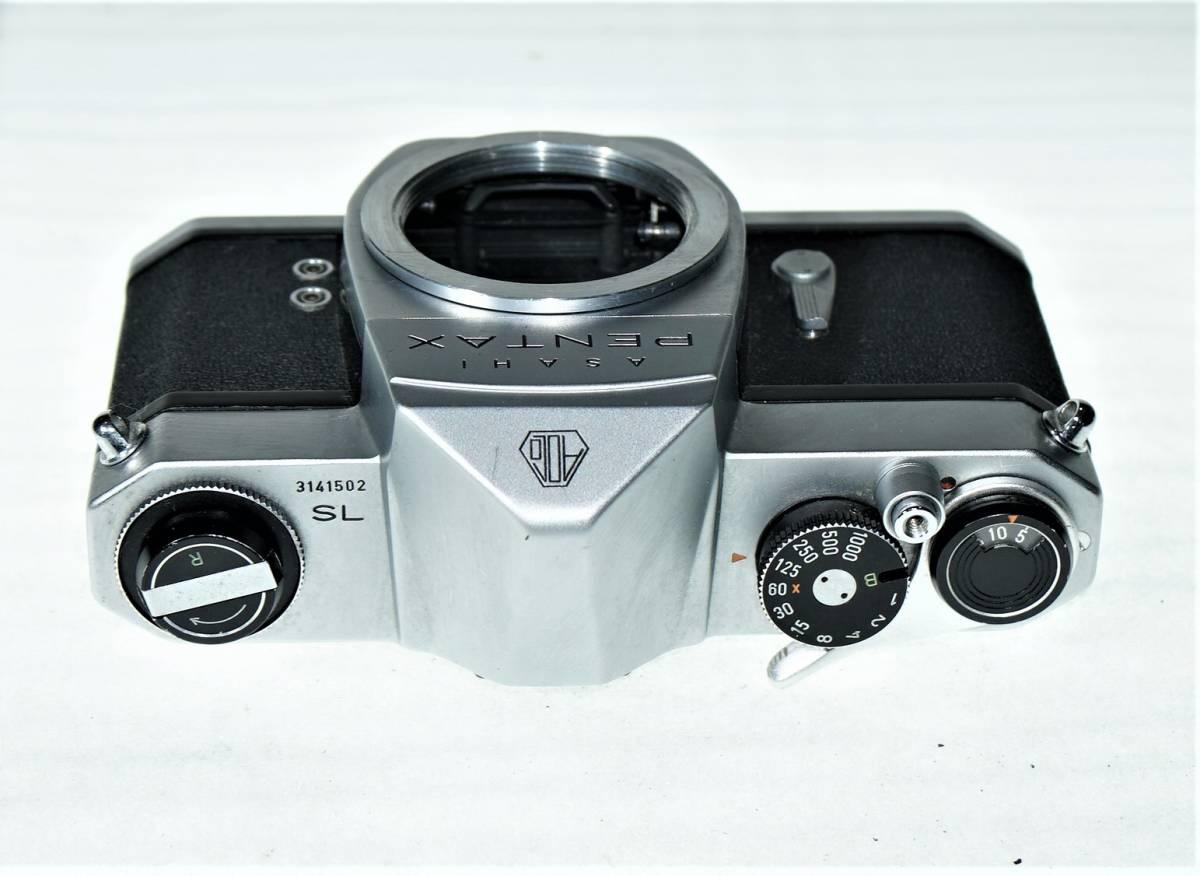 35mm ペンタックス・『 ASAHI PENTAX SL 』ジャンク_画像8