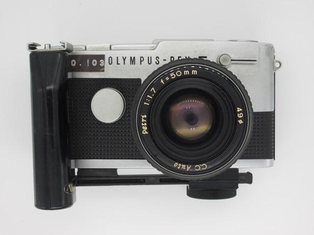 古いカメラ オリンパス PEN-F PEN-FT