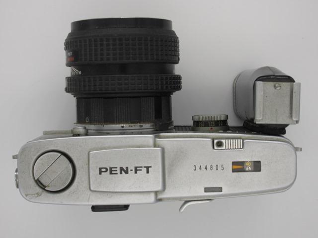 古いカメラ オリンパス PEN-F PEN-FT_画像2