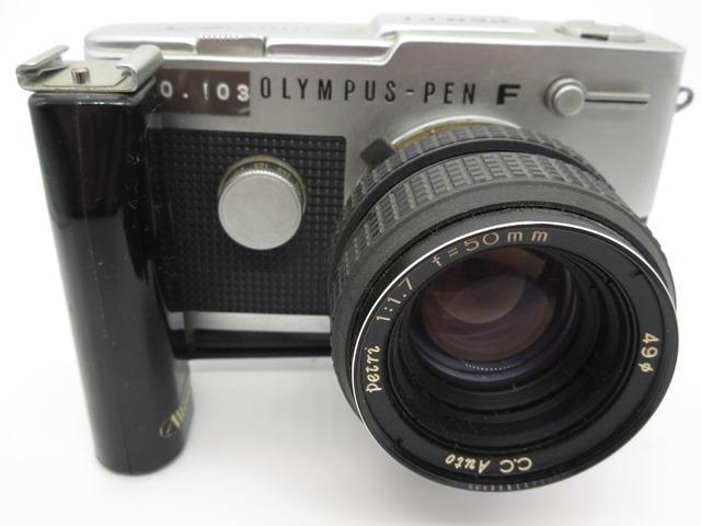 古いカメラ オリンパス PEN-F PEN-FT_画像6