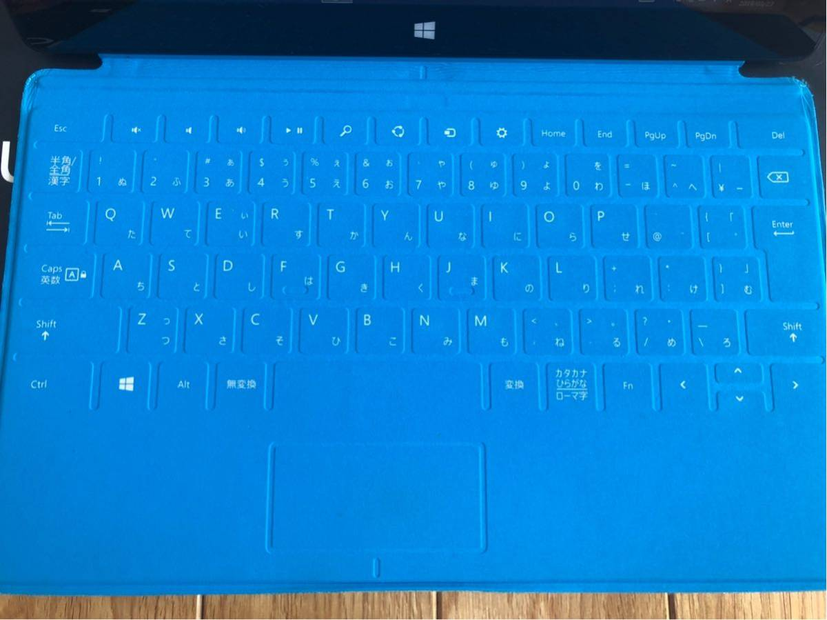 Microsoft surface RT 64GB touch cover_画像4