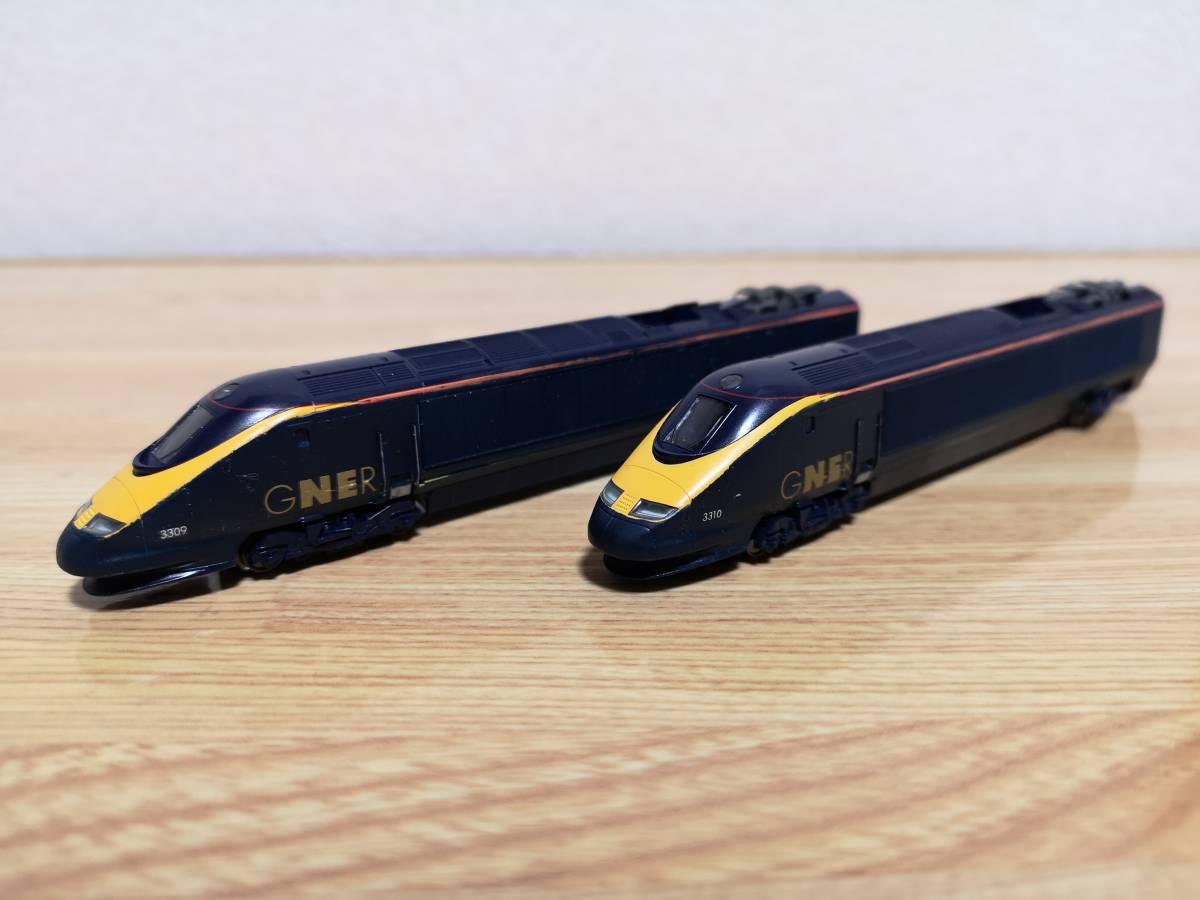 イギリス KATO加工特製品 Class373 GNER ホワイト・ローズ 16両フル編成_画像2