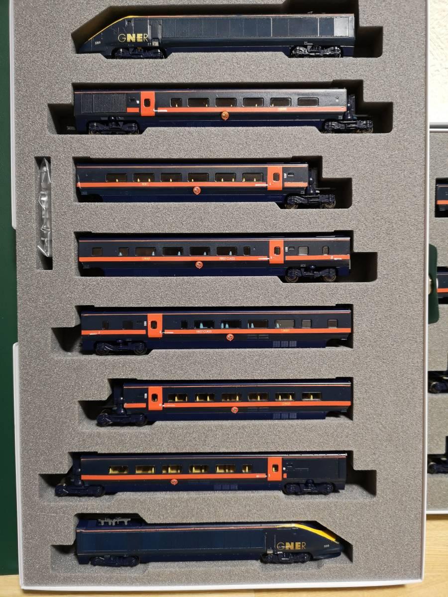 イギリス KATO加工特製品 Class373 GNER ホワイト・ローズ 16両フル編成_画像4