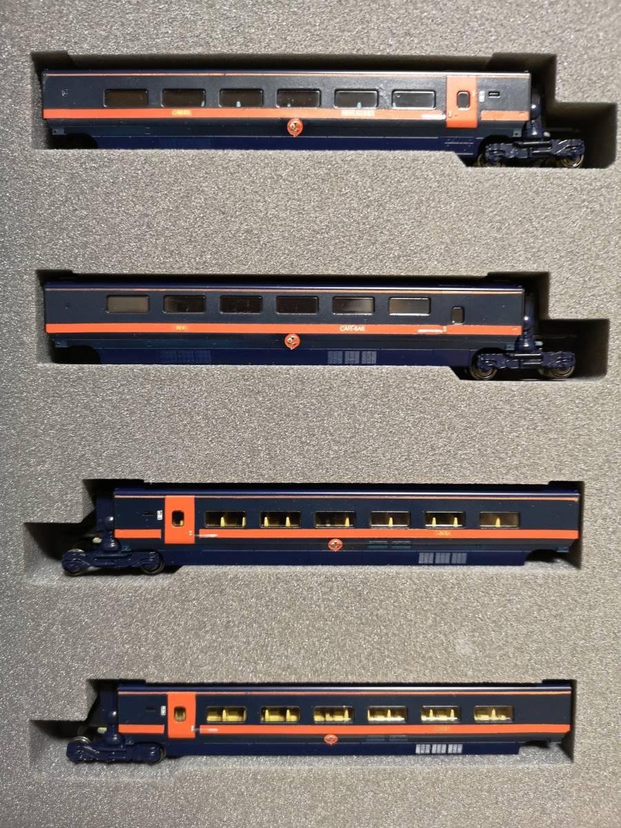 イギリス KATO加工特製品 Class373 GNER ホワイト・ローズ 16両フル編成_画像5
