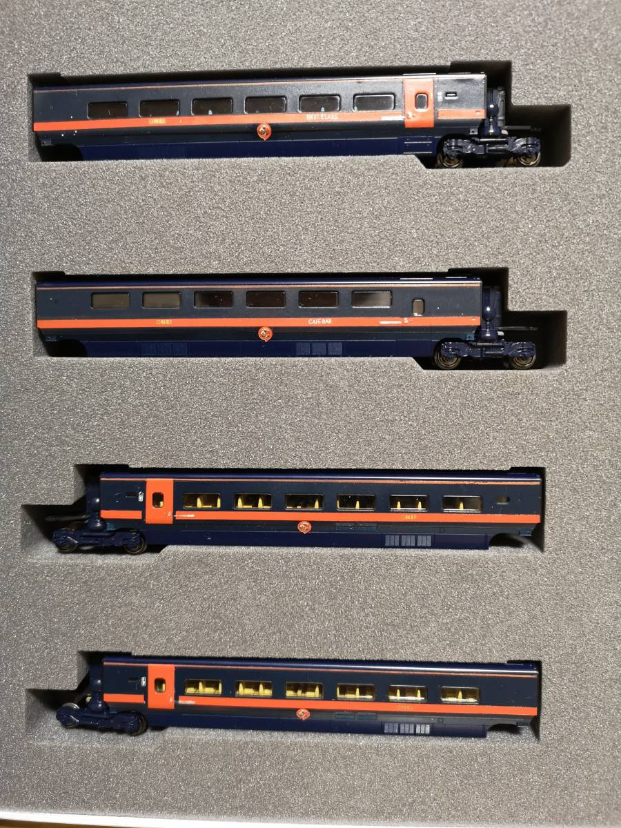 イギリス KATO加工特製品 Class373 GNER ホワイト・ローズ 16両フル編成_画像6