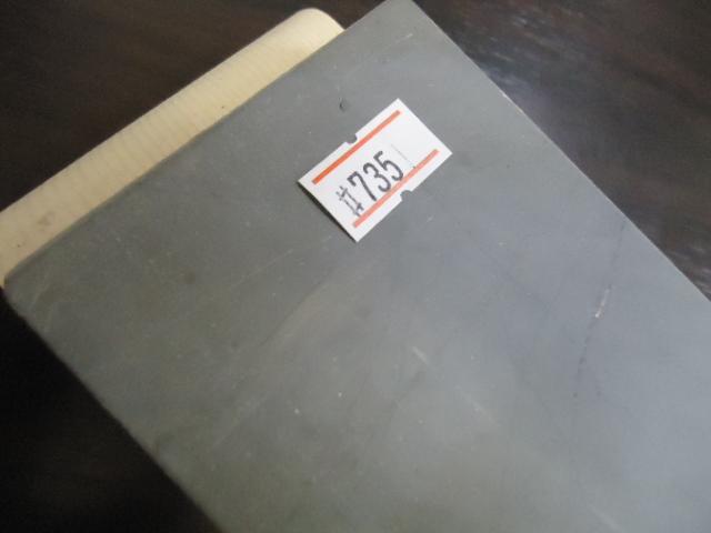 良質の石が安く入荷・天然砥石 大平山 木台付き  NO735_画像2