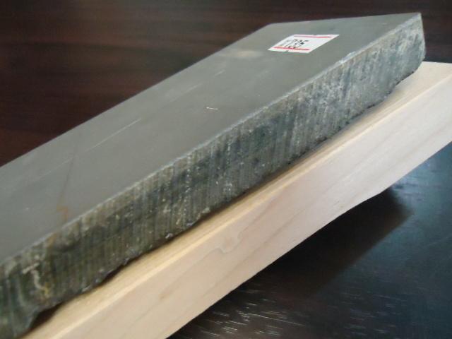 良質の石が安く入荷・天然砥石 大平山 木台付き  NO735_画像5