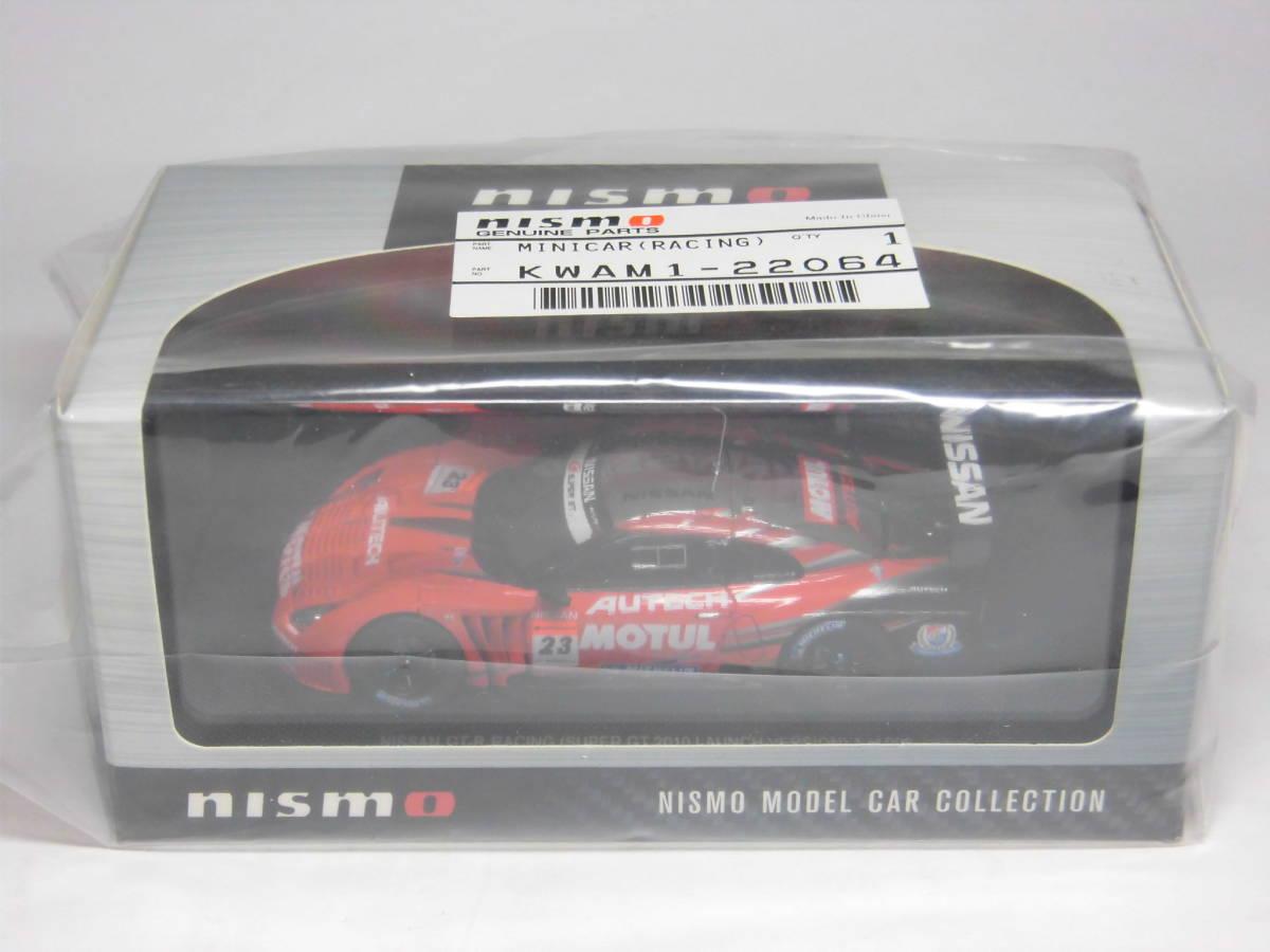 エブロ 1/43 NISMO製品 GT 2010 AUTECH MOTUL NISSAN GT-R (No.23) R35 オーテック モチュール ニスモ 日産 スーパー GT 500 _画像1