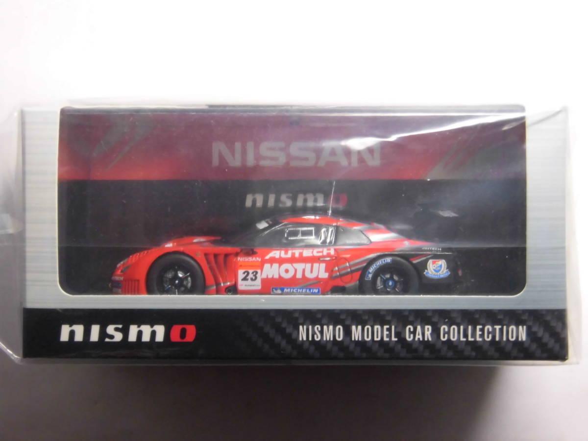エブロ 1/43 NISMO製品 GT 2010 AUTECH MOTUL NISSAN GT-R (No.23) R35 オーテック モチュール ニスモ 日産 スーパー GT 500 _画像6
