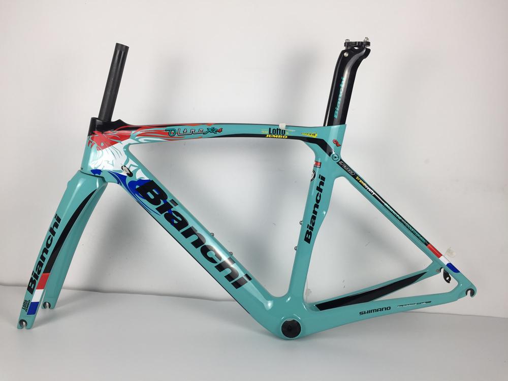 新品 カーボンフレーム ロードバイクフレーム 自転車フレーム フレームセット_画像6