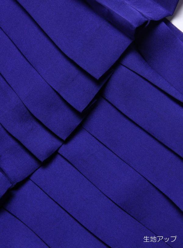 ★B092☆ BALLSEYのスカート ボールジー トゥモローランド 青紫系 プリーツ 台形 とろみ系 レディースボトムス トゥモローランド_画像6