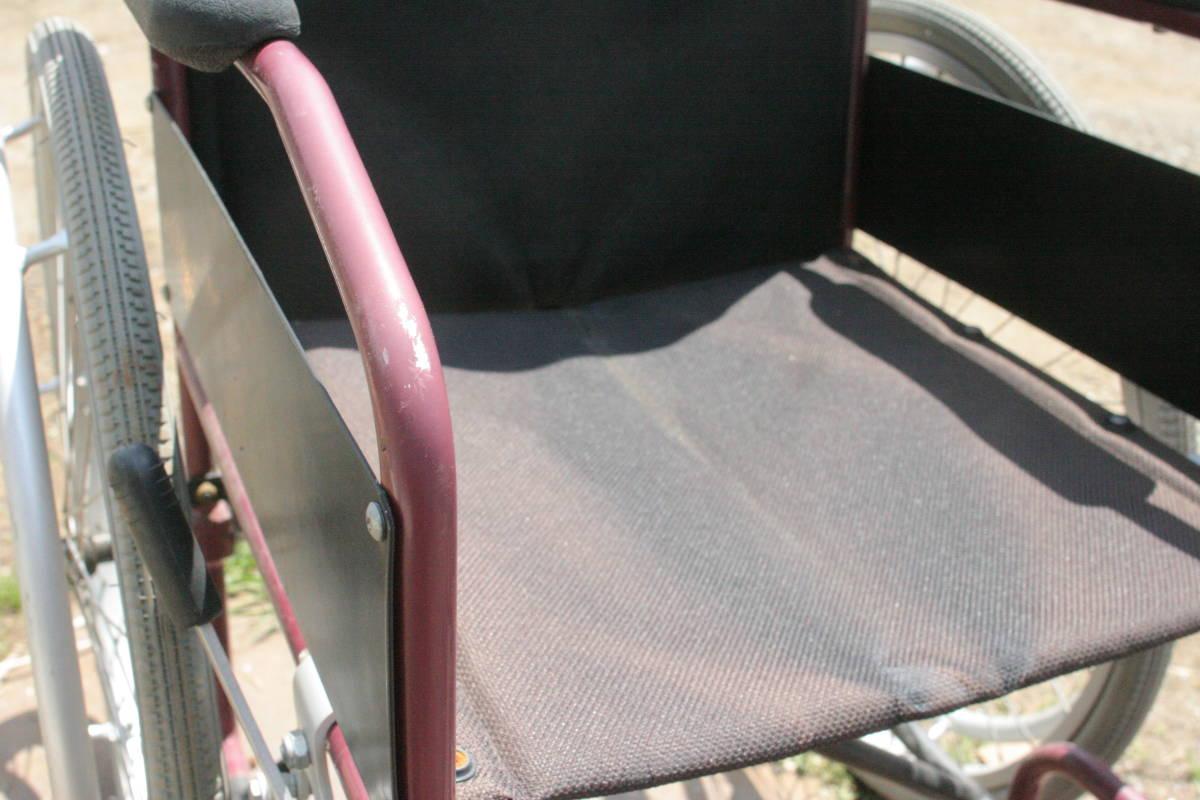車椅子 折り畳み 軽量、アルミ製_画像5