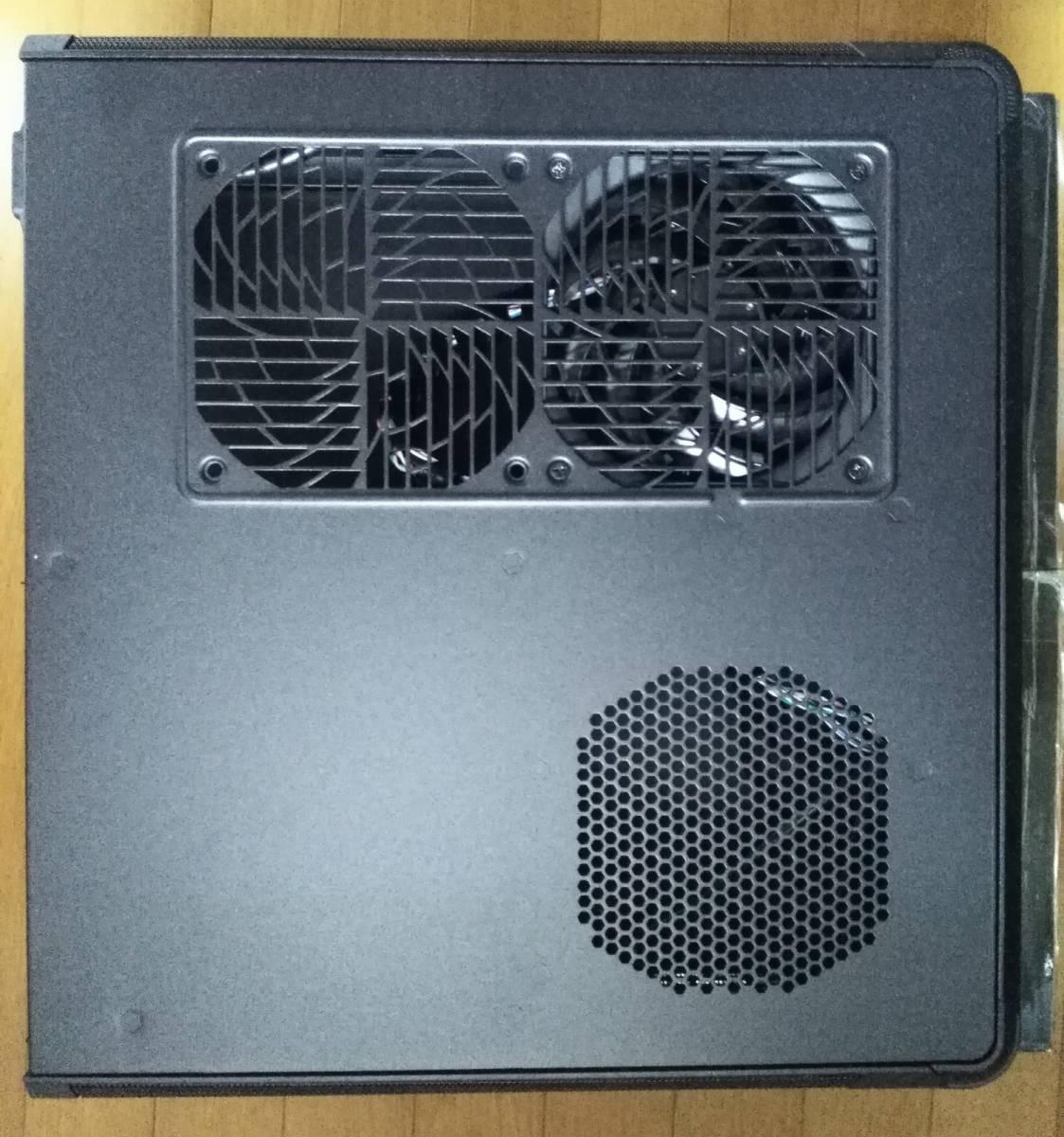 1円~ SilverStone SST-FTZ01B (Mini-ITX スリム itx dtx RVZ01 ML07B ゲーミング PCケース ftz HTPC スチール 光学ドライブ SFX 水冷) _画像3