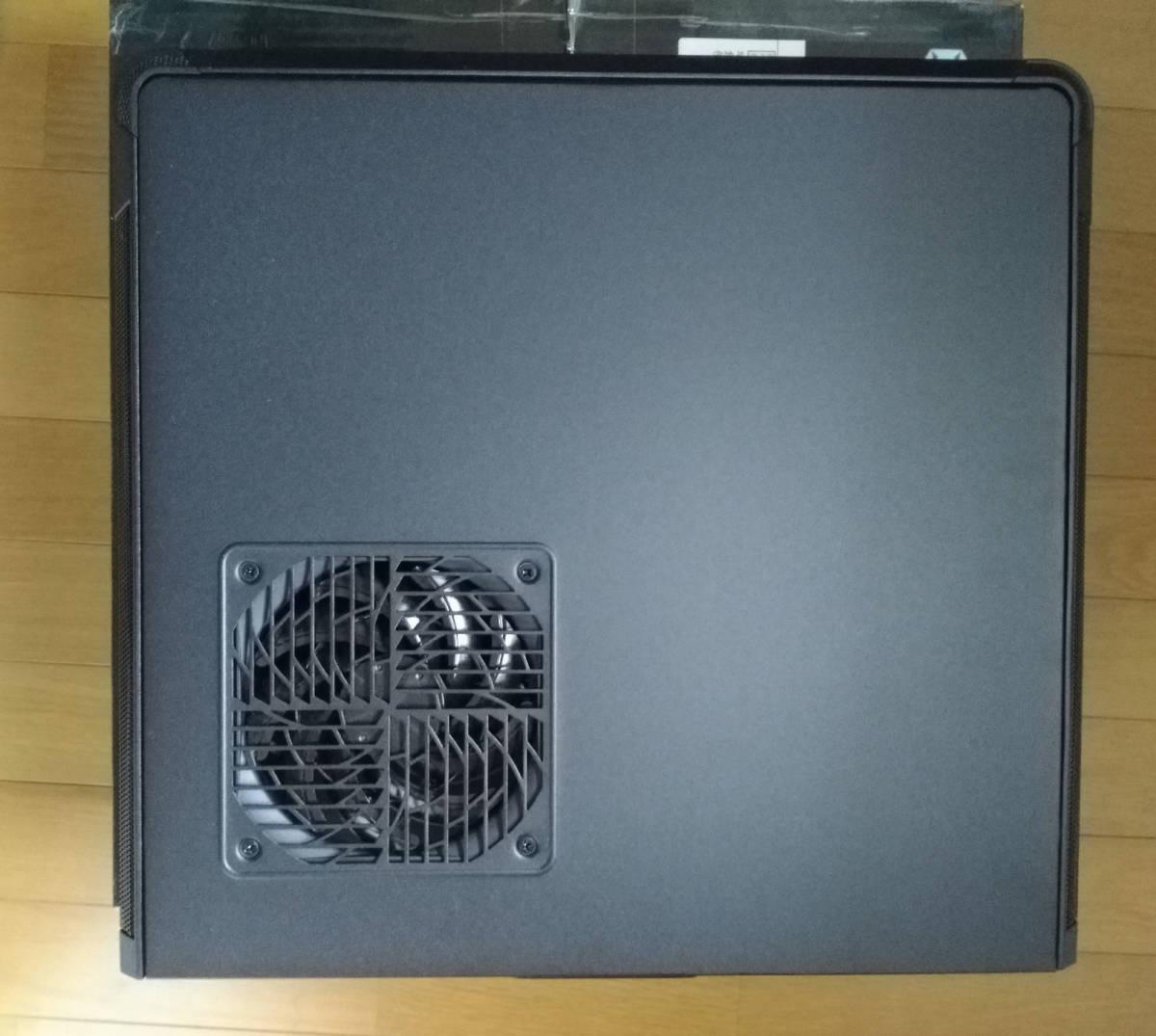 1円~ SilverStone SST-FTZ01B (Mini-ITX スリム itx dtx RVZ01 ML07B ゲーミング PCケース ftz HTPC スチール 光学ドライブ SFX 水冷) _画像2