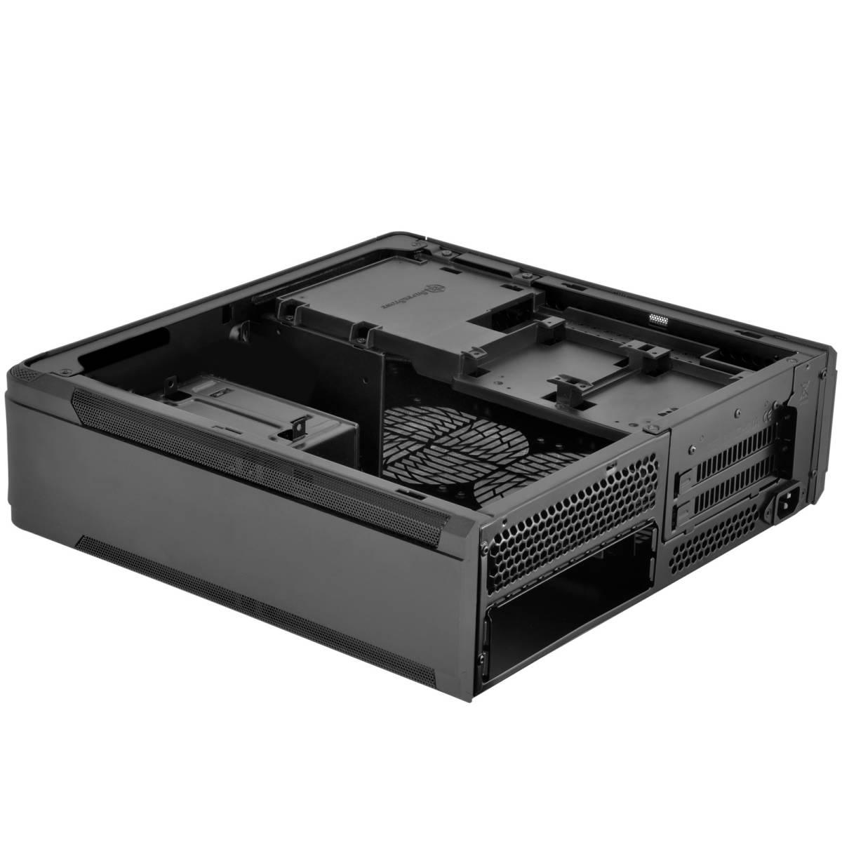 1円~ SilverStone SST-FTZ01B (Mini-ITX スリム itx dtx RVZ01 ML07B ゲーミング PCケース ftz HTPC スチール 光学ドライブ SFX 水冷) _画像6